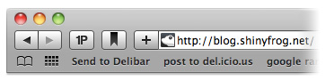 Delibar Safari Button