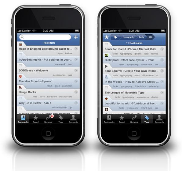 Delibar iPhone